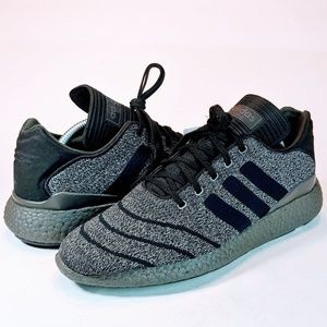 NEW Adidas Busenitz Pure Boost Charcoal Prime-Knit